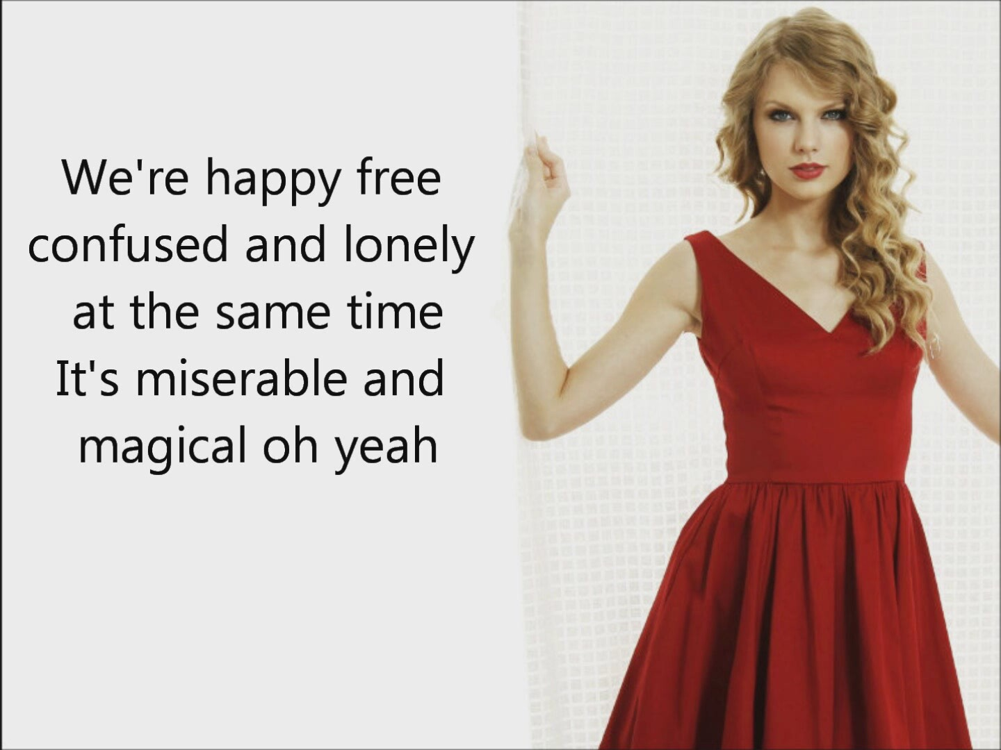 taylor swift 22 lyrics İzlesenecom