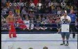 john cena vs rey mysterio atışması smackdown