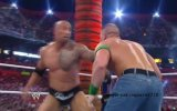 Wrestlemania 28 The Rock vs John Cena 2012
