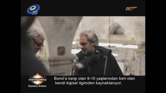 SKYFALL KAMERA ARKASI - SİNEMASKOP KANAL35