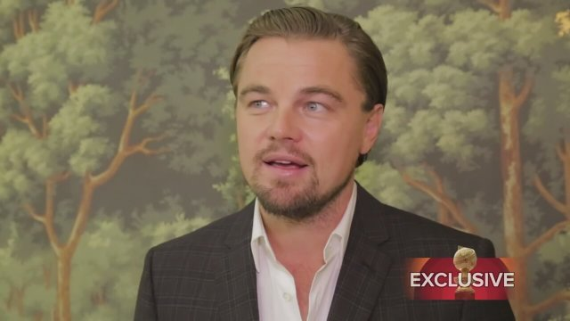 Leonardo DiCaprio, The Wolf of Wall Street Röportaj