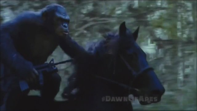 Dawn Of The Planet Of The Apes TV Fragmanı 3