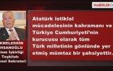 Ekmeleddin İhsanoğlu: Atatürk'ü İnkar Türk Tarihini İnkardır