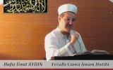 Cuma Vaaz'ı Yeraltı Camii İmam Hatibi / Hafız Ümit Aydın