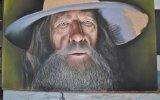Hızlandırılmış Görüntüleri ile inanılmaz Gandalf Çizimi