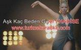 Hadise - Aşk Kaç Beden Giyer - (Karaoke)