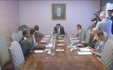 Davutoğlu, Güney Afrika Cumhuriyeti'nin Filistin özel temsilcilerini kabul etti - ANKARA