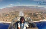 Kendi Etrafında Dönen Pilotun Kokpit Görüntüleri