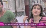 Dizi Magazin Gupse Özay'ın Deliha Filmi Setinde