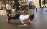 17 yaşındaki kızın anormal spor programı
