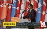 Genel Başkan Davutoğlu'nun Teşekkür Konuşması