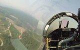 Pilot Kabininden F18 Uçuş Gösterisi