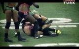 Kadın Futbol Maçında Ortalık Karıştı