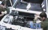 42 Saniyede Araba Motoru Değiştirmek