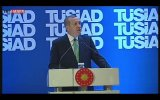 Cumhurbaşkanı Erdoğan Tüsiadda Konuştu
