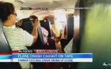 Uçağın Düşme Anı Yolcu Tarafından Görüntülendi !