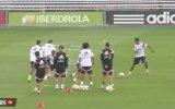 Antrenmanda Gareth Bale Şov