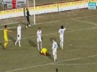 Malatyaspor'un Karabük'e Attığı Fantastik Gol