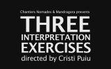 THREE INTERPRETATION EXERCISES Fragman